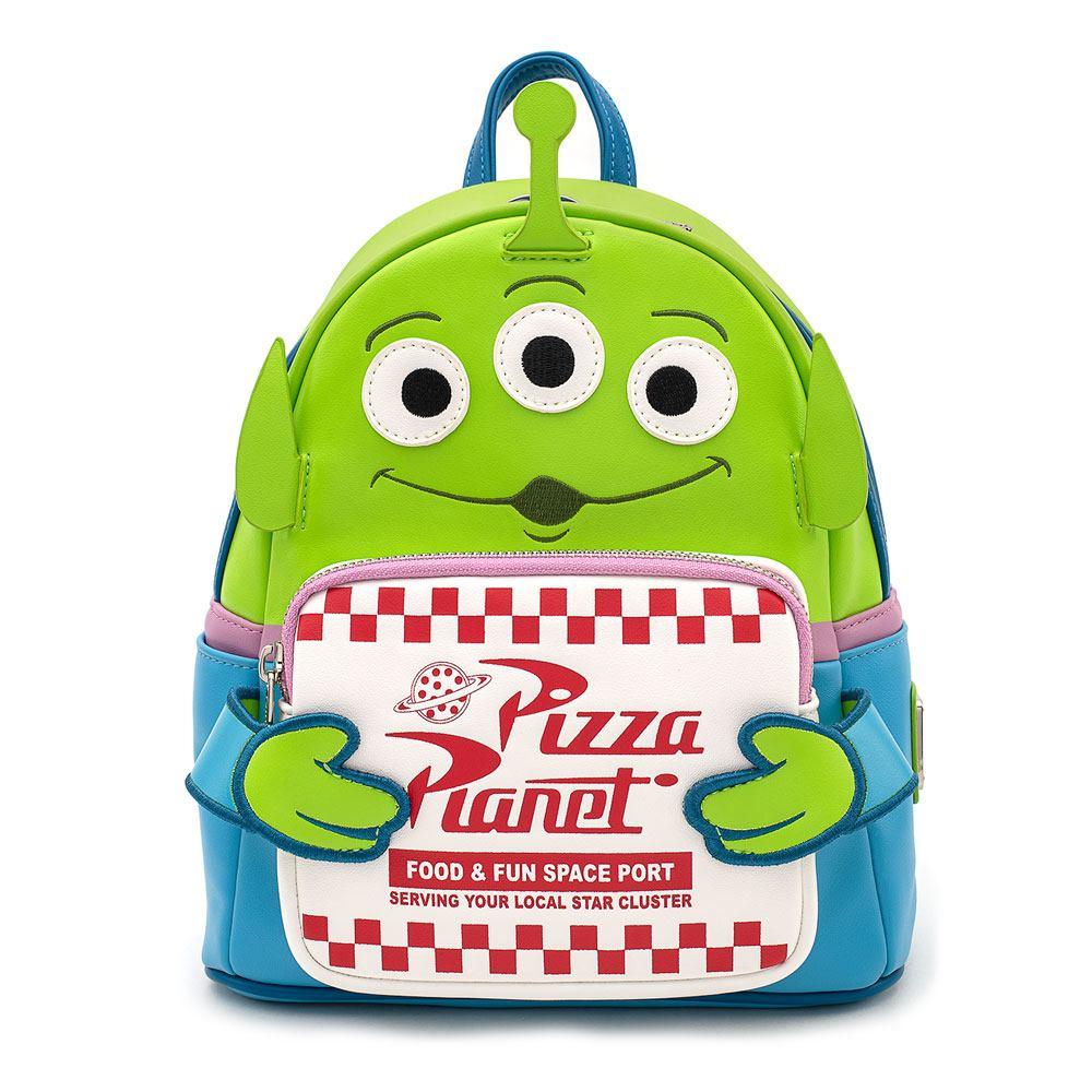 Pixar - Loungefly : Sac à dos Alien Pizza Planet