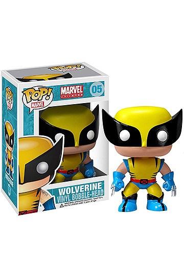 Pré-commande! Marvel - Bobble Head Funko Pop N°05 : Wolverine