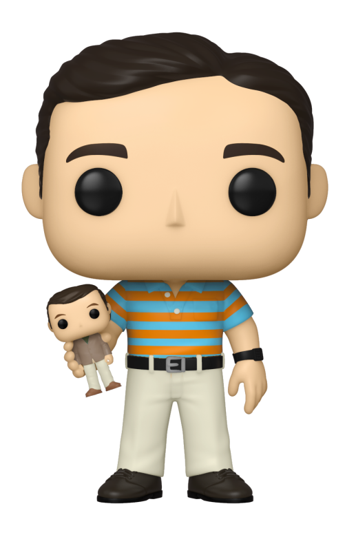 40 ans, toujours puceau - Bobble Head Funko Pop N° : Andy Holding Oscar