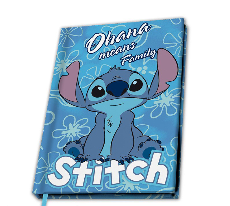 Disney - Lilo et Stitch : Cahier A5 Stitch