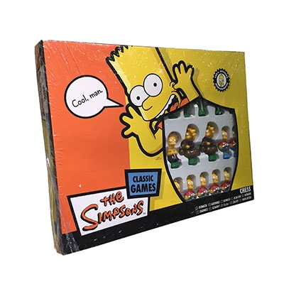 Les Simpsons : Jeu d\'échecs - Collectors Chess Set
