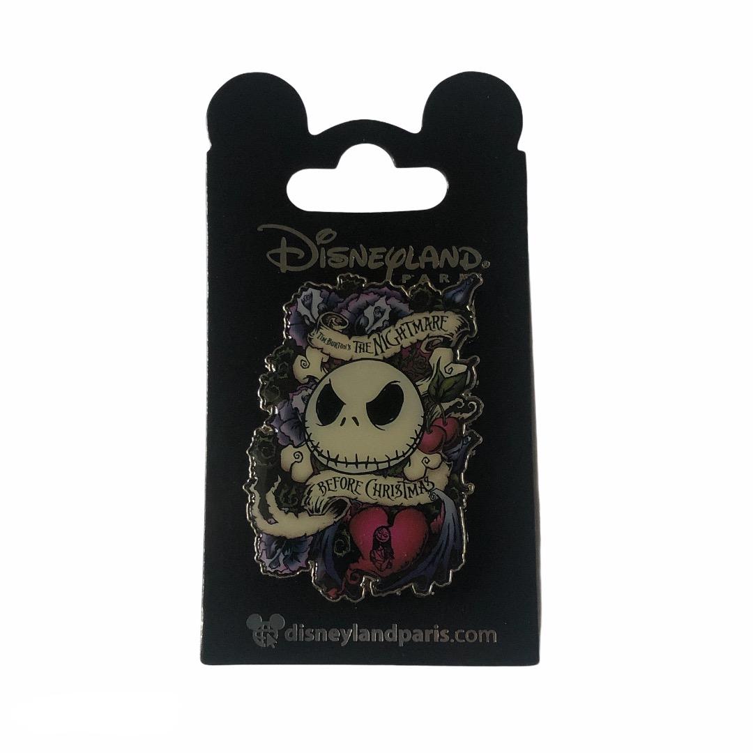 Disney - L\'étrange noël de Monsieur Jack : Pin's Jack rose OE