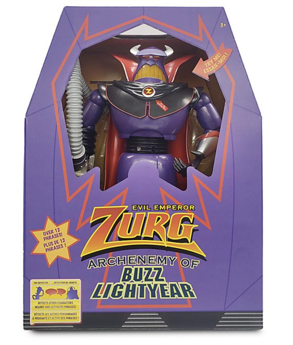 Pixar - Toy Story : Figurine Zurg intereactif