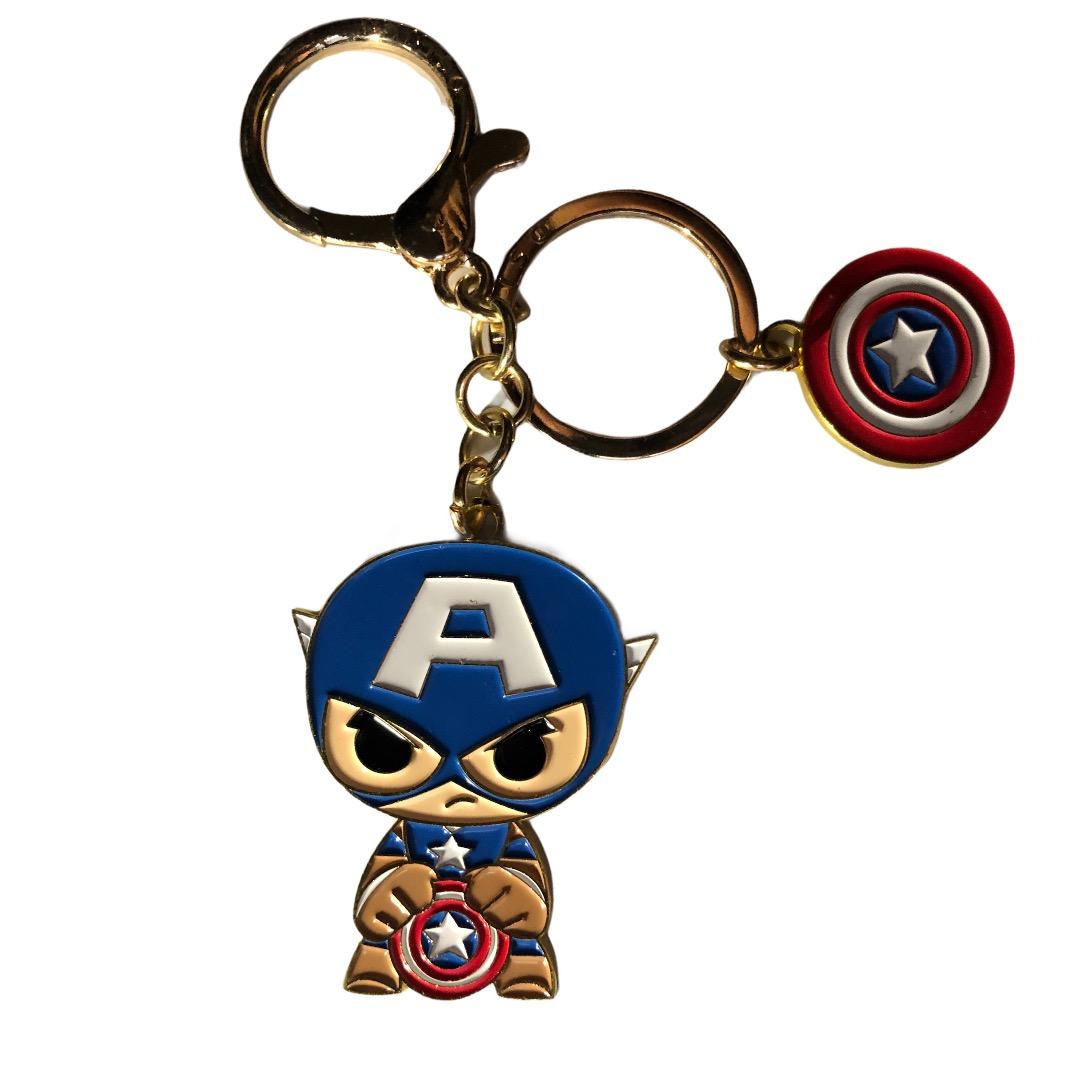 Marvel - Spiderman : Porte-clé Captain America