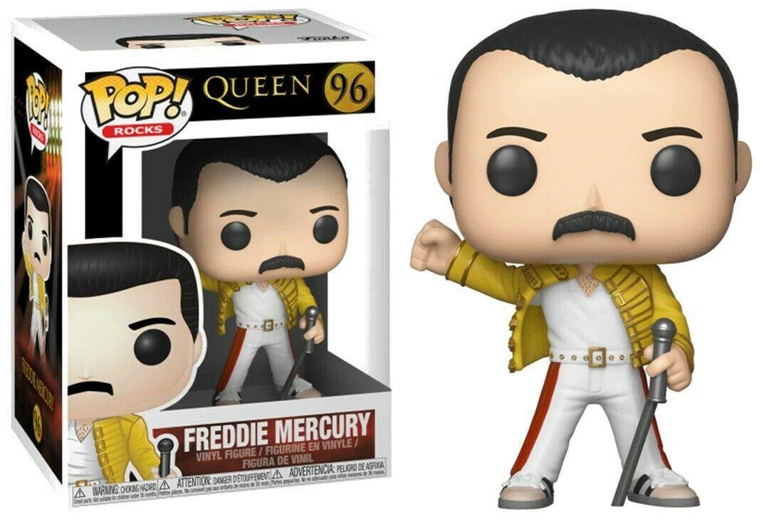 Queen - Bobble Head Funko Pop N°96 : Freddie Mercury 1986