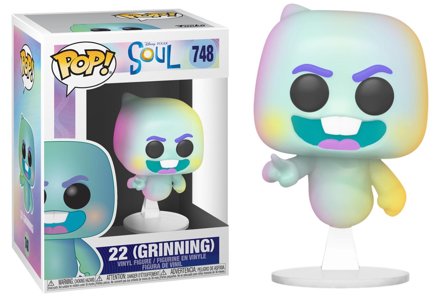 Disney Pixar - Bobble Head Funko Pop N°748 : 22 (Grinning)