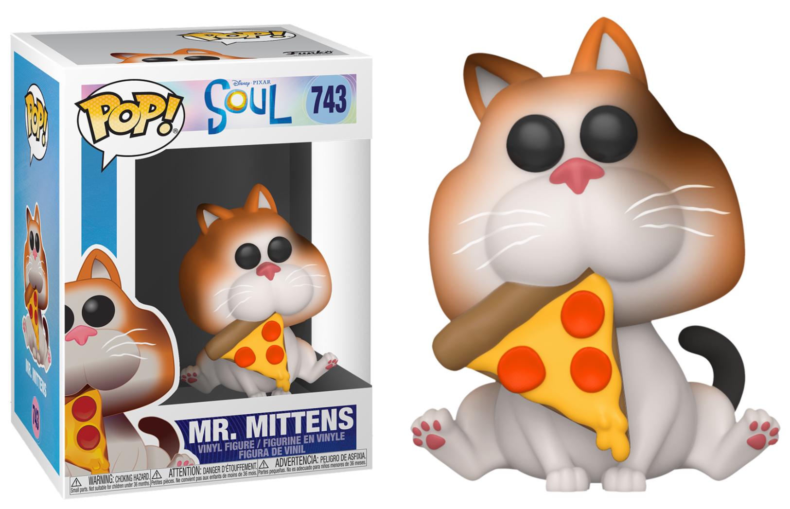 Pixar - Bobble Head Funko Pop N°743 : Mr Mittens