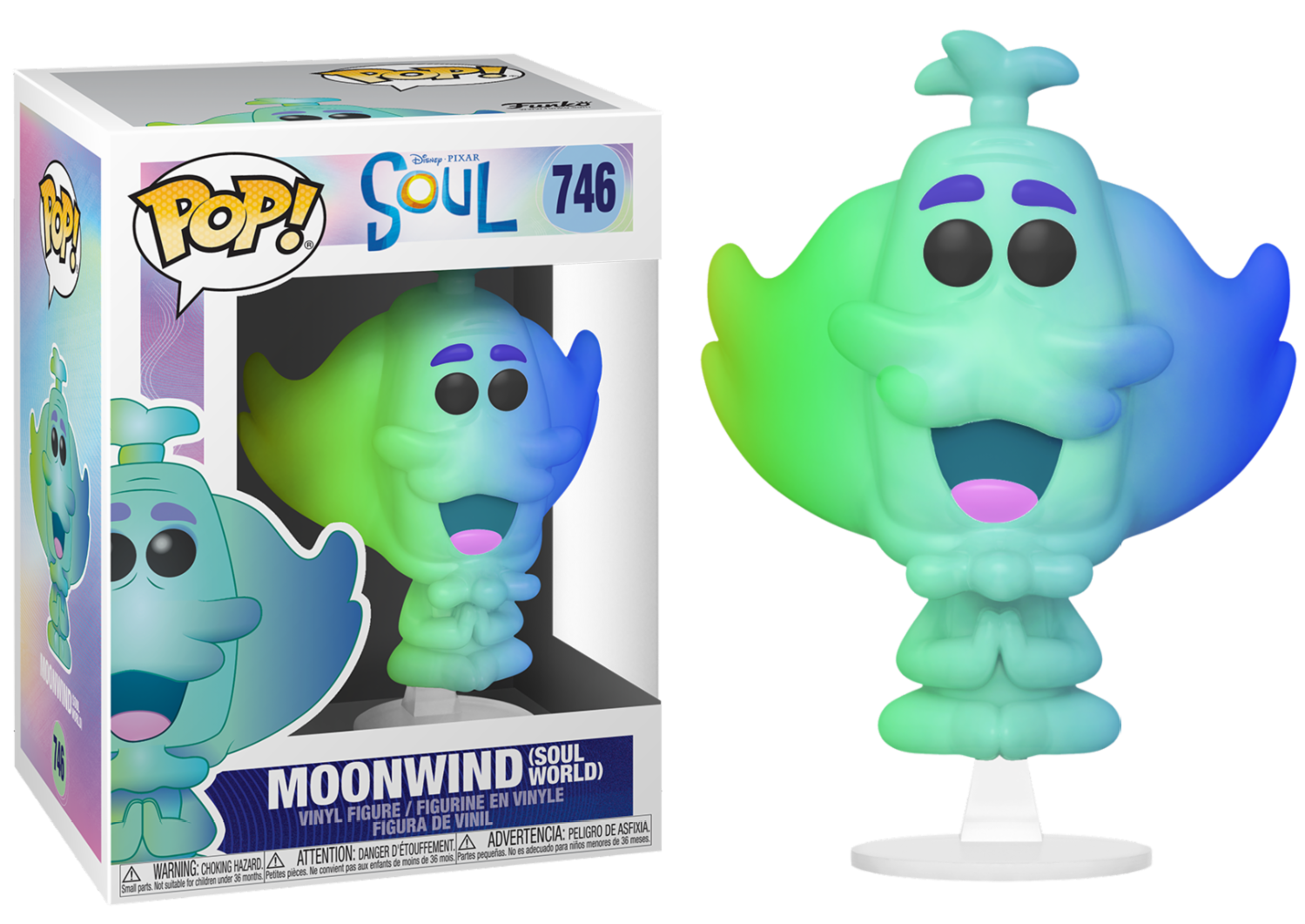 Disney Pixar - Bobble Head Funko Pop N°744 : MoonWild \'Soul World\'
