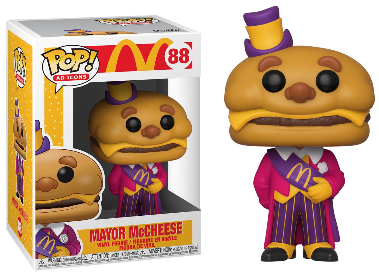 Mc Donald - Bobble Head Funko Pop N°88 : Mayor McCheese