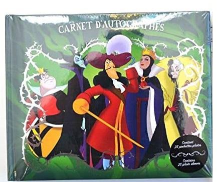 Disney - Carnet d\'autographe Villains