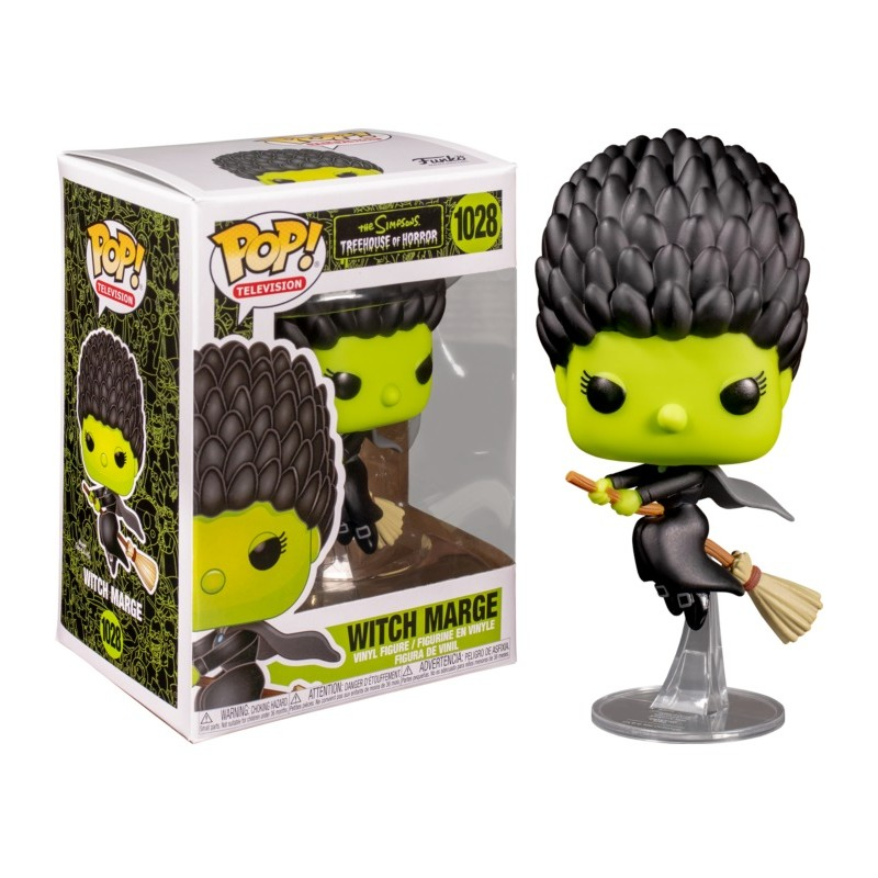 The Simpson - Bobble Head Funko Pop N°1028 : Witch Marge