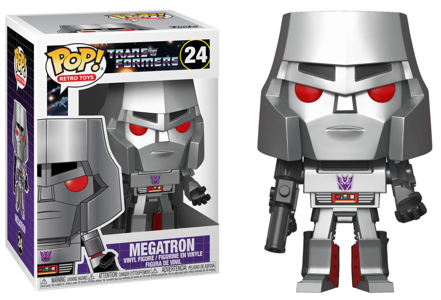 Transformers - Bobble Head Funko Pop N°24 : Megatron