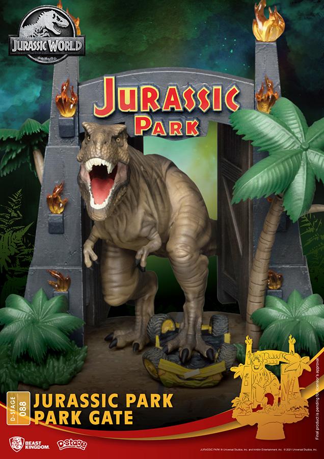 Pré-commande! Jurassic Park - D-Stage : Figurine Park Gate