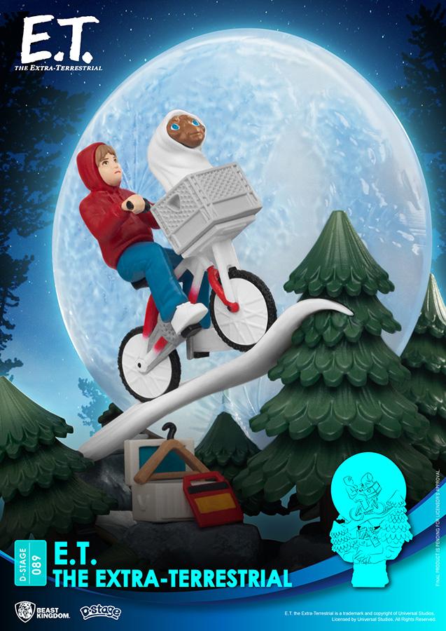 Pré-commande! E.T. L\'extra-terrestre - D-Stage : Figurine de la scène iconique