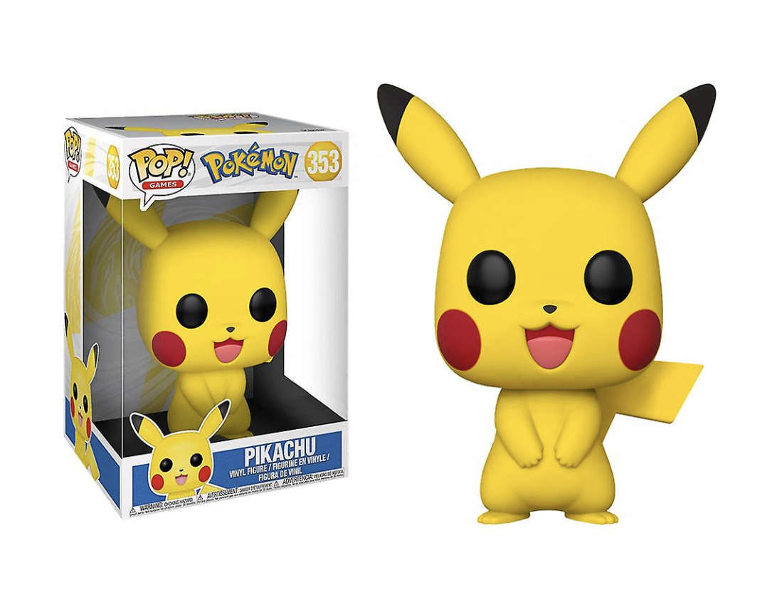 Pokémon - Bobble Head Funko Pop N° 333 : Pikachu OverSize