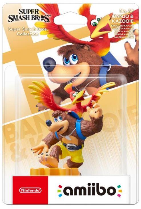 Nintendo - Amiibo : Figurine S.Smash Bros. Banjo & Kazooie