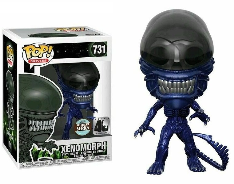 Alien - Bobble Head Funko Pop N°731 : Xenomorph Blue Version