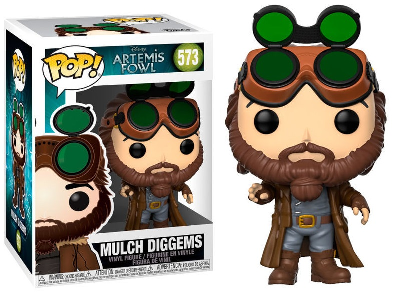 Artemis Fowl - Bobble Head Funko Pop N°573 : Mulch Diggems