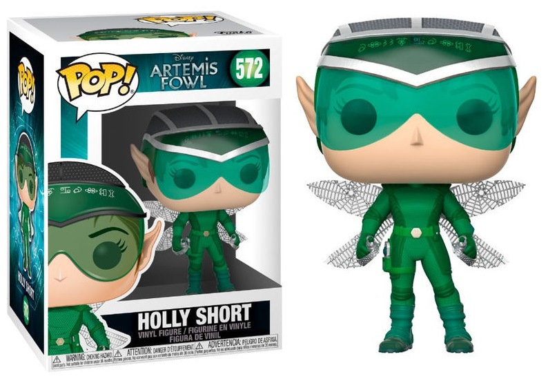 Artemis Fowl - Bobble Head Funko Pop N°572 : Holly Short