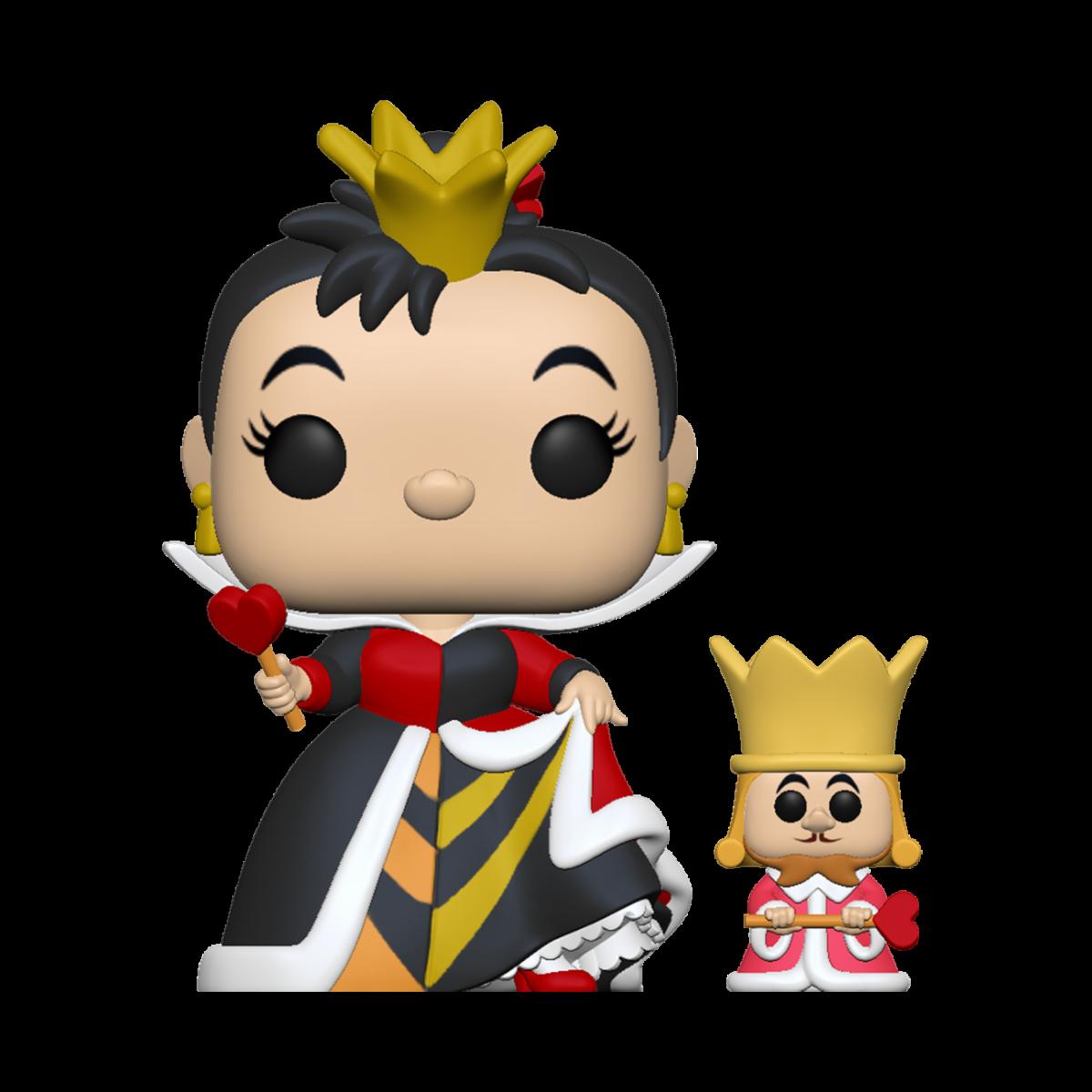 Pré-commande! Alice au pays des merveilles - Bobble Head Funko Pop : Queen W/ King