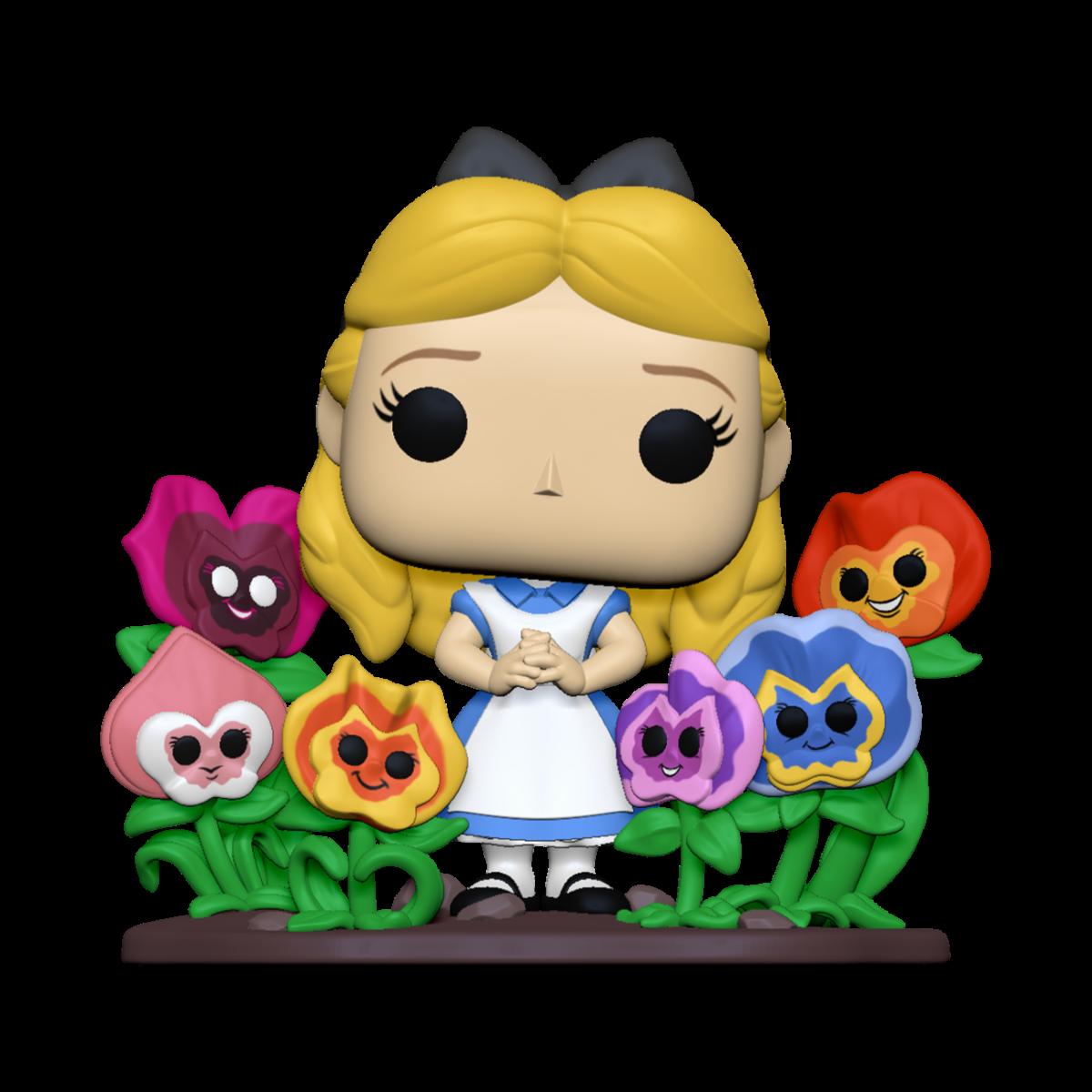 Pré-commande! Alice au pays des merveilles - Bobble Head Funko Pop : Alice w/Flowers