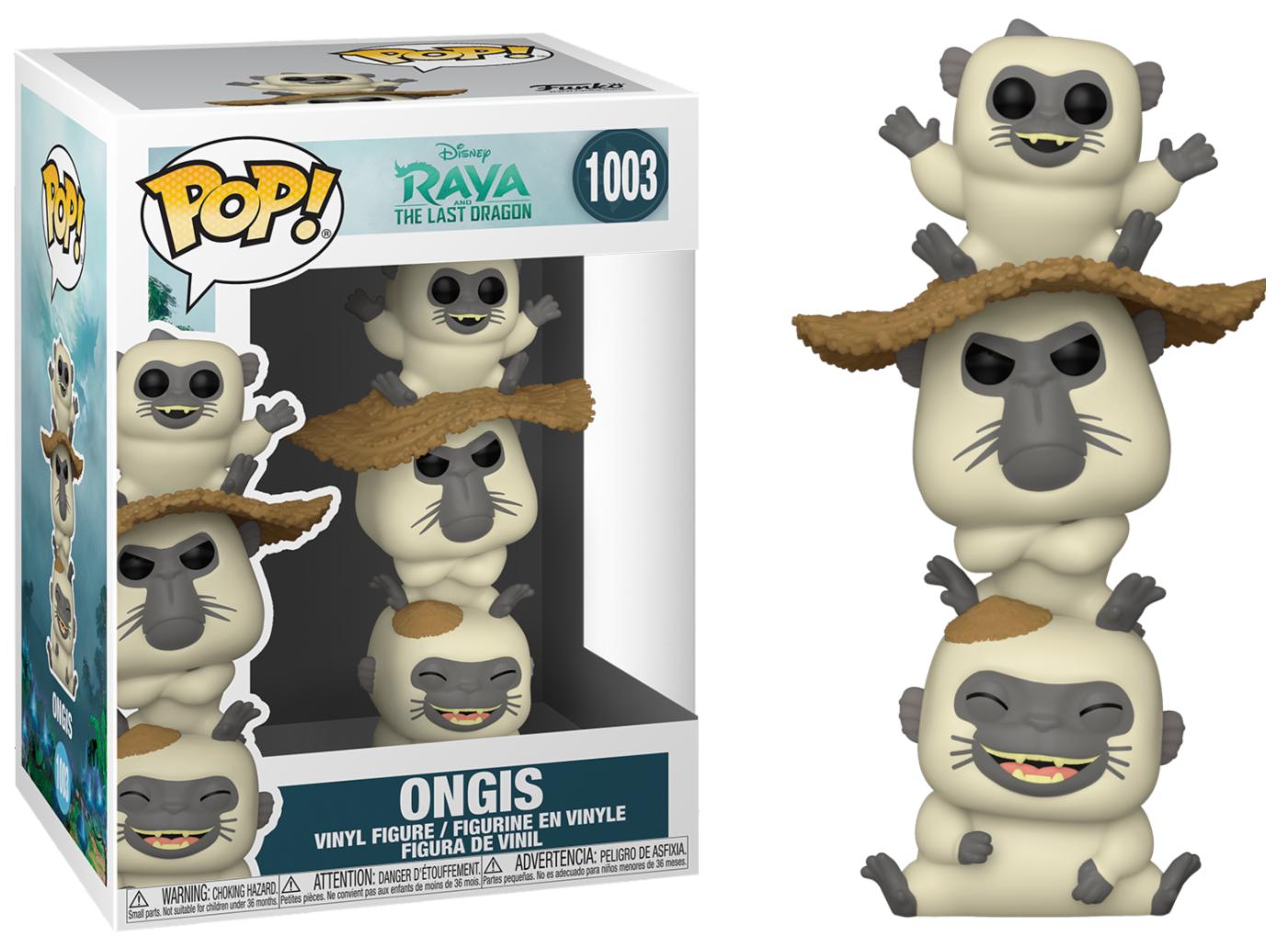 Raya, The Last Dragon - Bobble Head Funko Pop N°1003 : Ongi