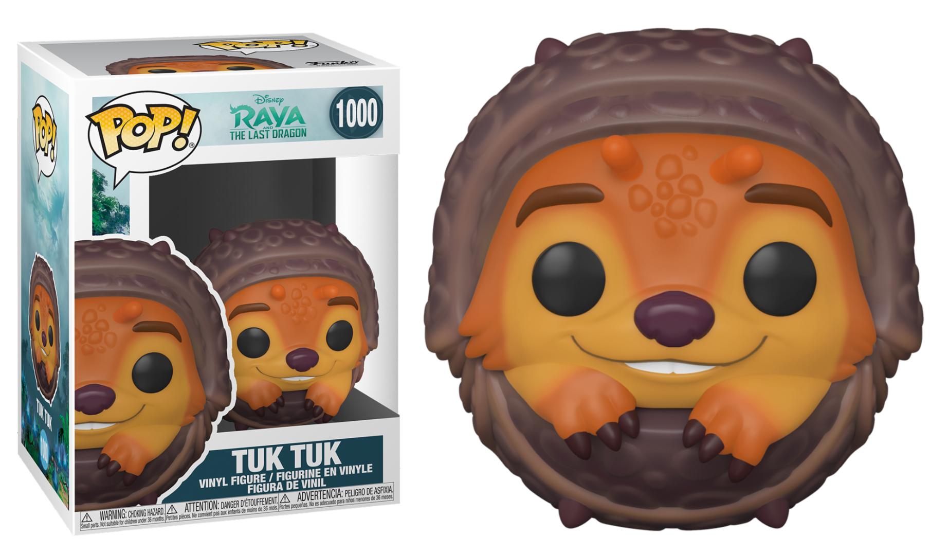 Pré-commande! Raya, The Last Dragon - Bobble Head Funko Pop N°1000 : Tuk Tuk