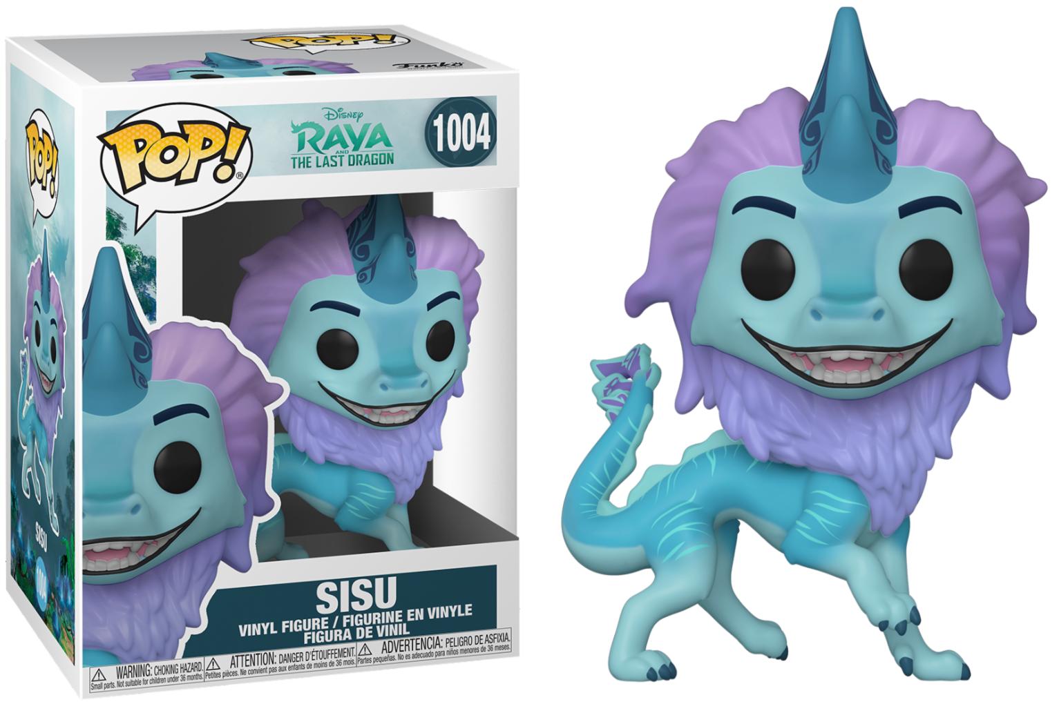 Pré-commande! Raya, The Last Dragon - Bobble Head Funko Pop N°1004 : Sisu