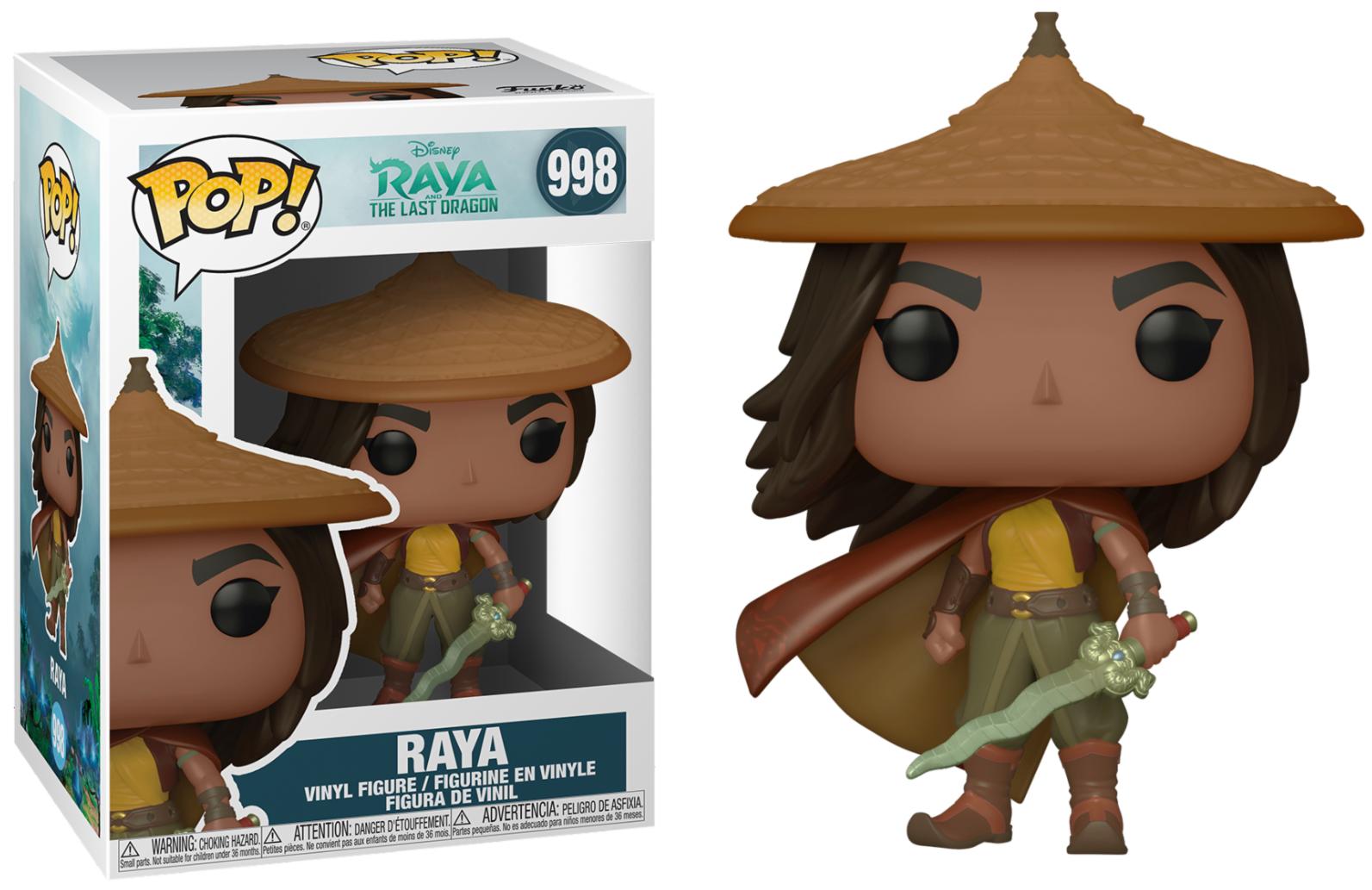 RAYA AND THE LAST DRAGON - BOBBLE HEAD POP N° 998 - RAYA