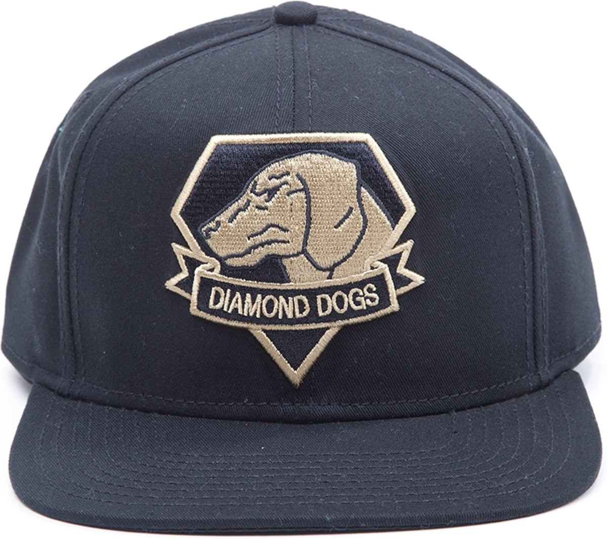 Metal Gear Solid V - Casquette Diamond Dogs Snap Black