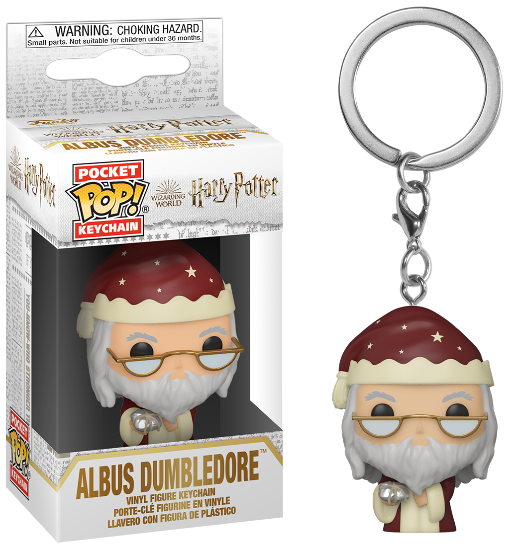 Pocket Pop Keychains : Harry Potter - Holiday Albus Dumbledore