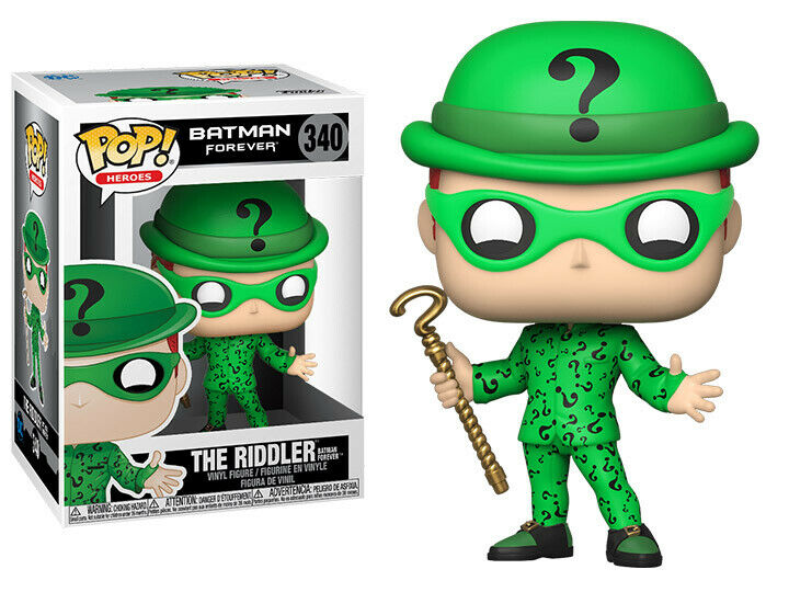 Batman Return - Bobble Head Funko Pop N°3340 : Riddler