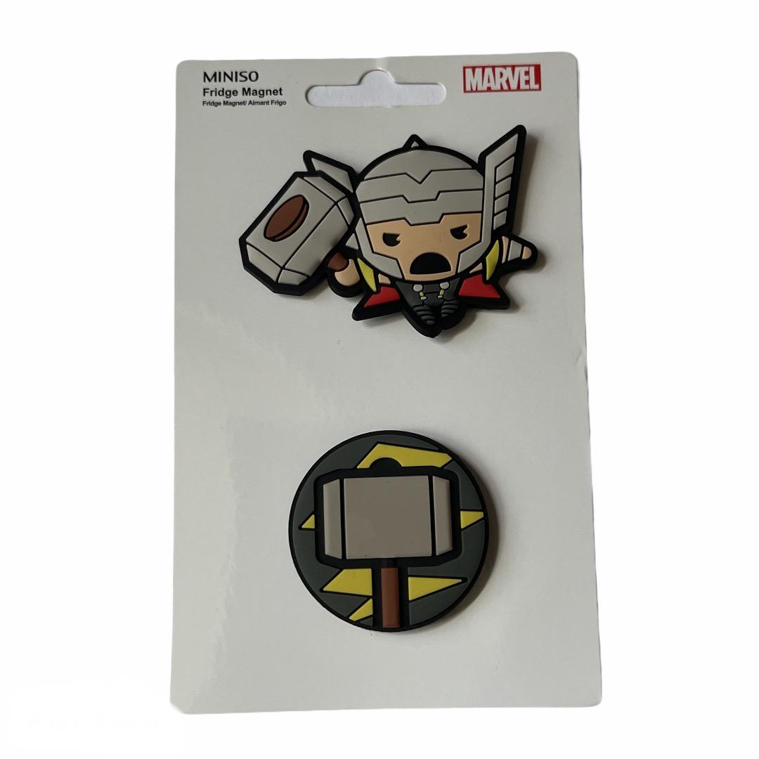 Marvel - Avengers : Lot de 2 magnets Thor