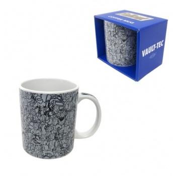 Fallout - Mug Vault Boy Collage