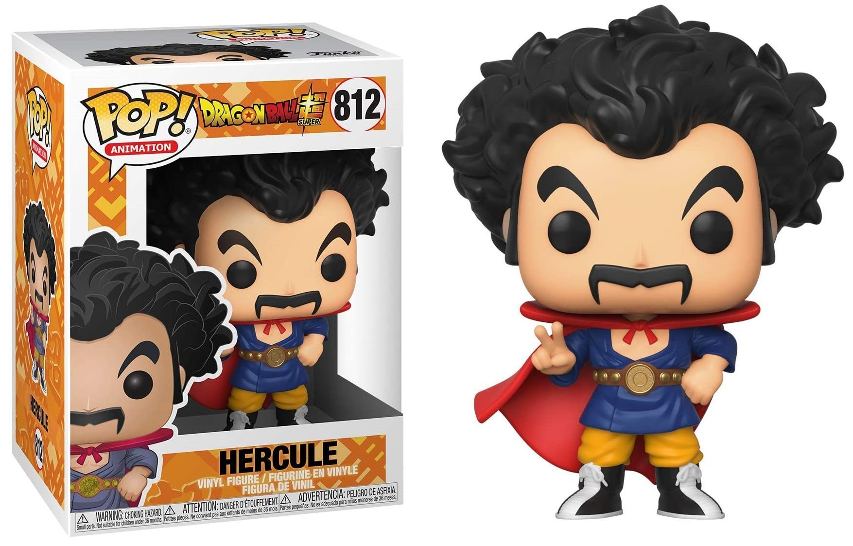 Dragon Ball Super - Bobble Head Funko Pop N°812 : Hercule