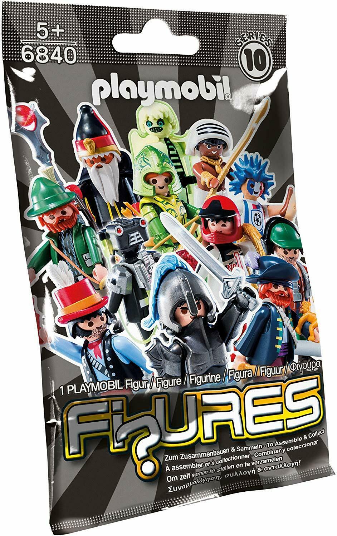 Playmobil - Séries 10 : 1 Playmobil Figures - 6840
