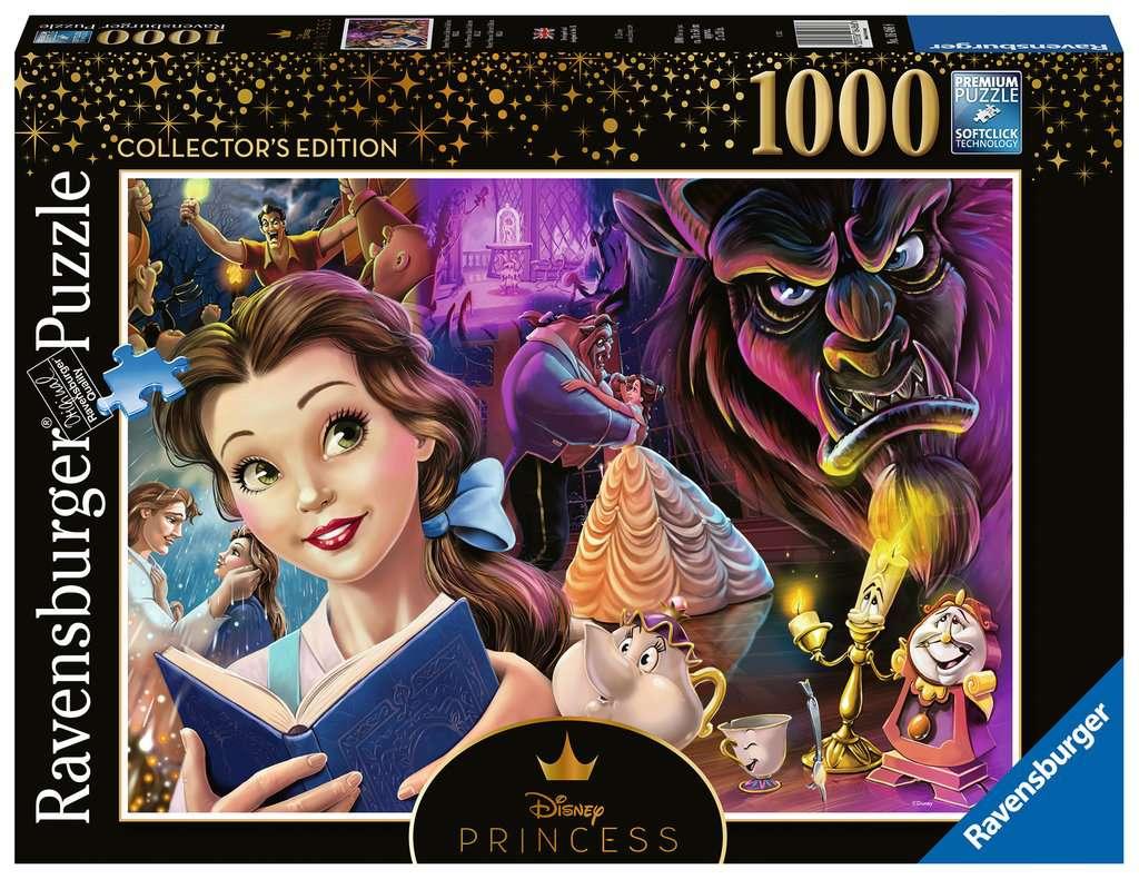 Pré-commande ! Disney - La Belle et la Bête : Puzzle Collector Edition 1000 pcs