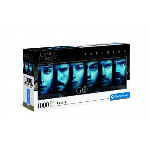 Pré-commande ! HBO - Game of Thrones : Puzzle panorama 1000 pcs