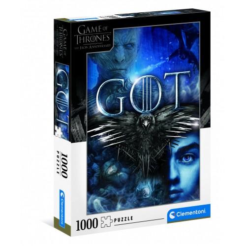 Pré-commande ! HBO - Game of Thrones : Puzzle 1000 pcs
