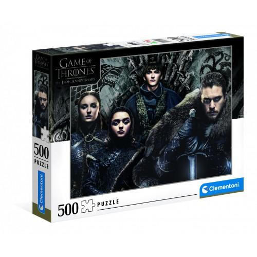 Pré-commande ! HBO - Game of Thrones : Puzzle 500 pcs