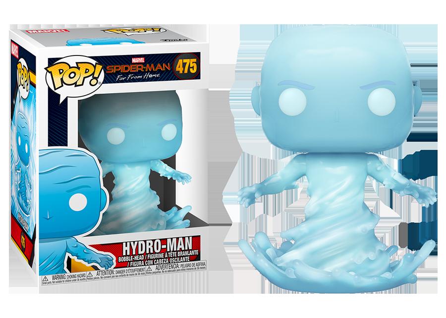 Spider-Man Far From Home - Bobble Head Funko Pop N°475 : Hydro-Man