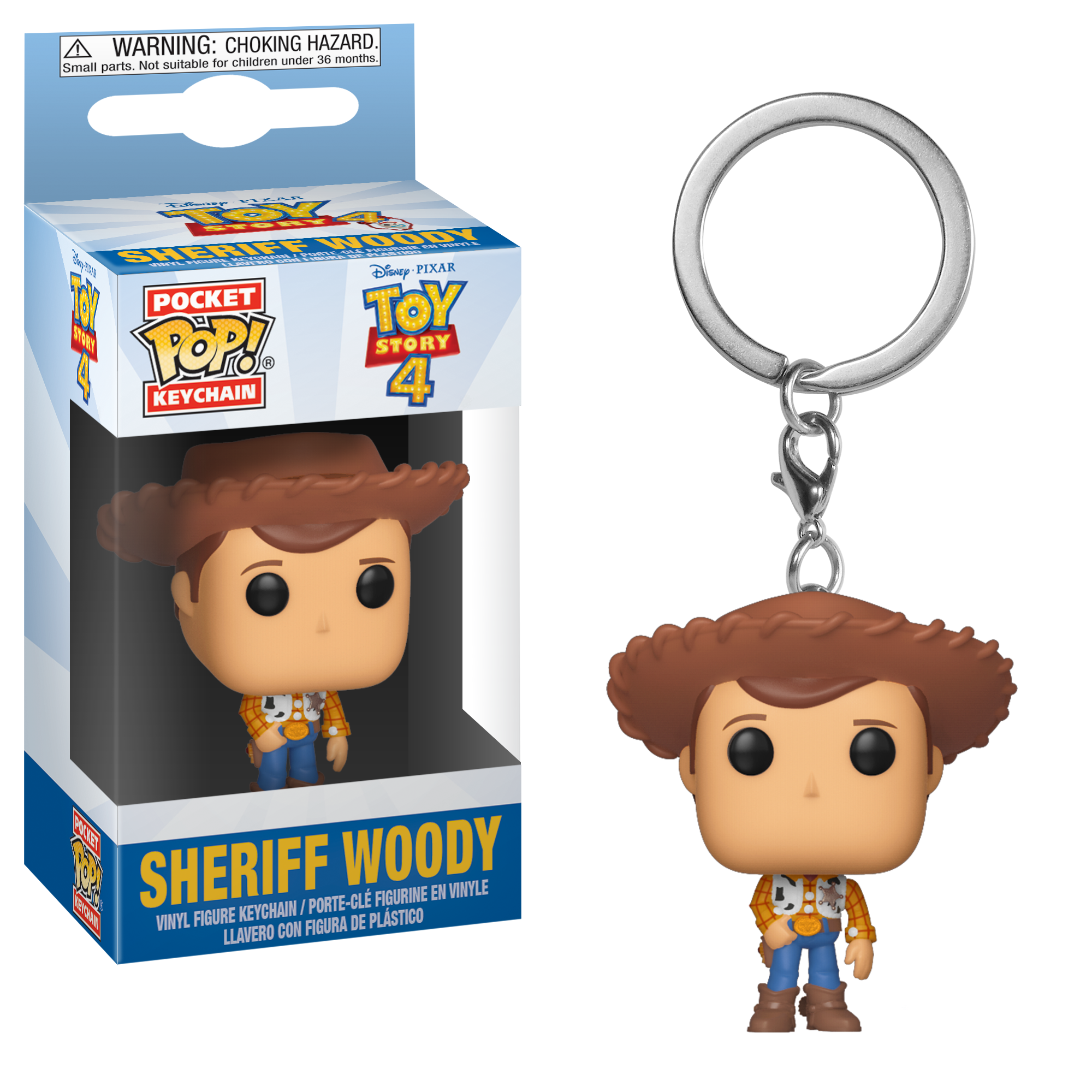 Disney Pixar - Pocket Pop Keychain : Sheriff Woody