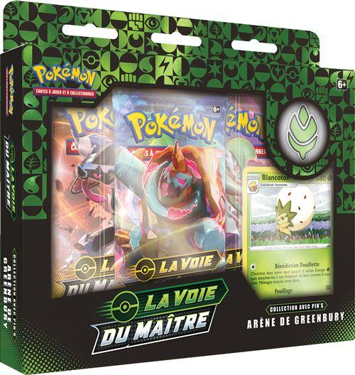 Pokémon - Coffret 3 boosters : La voie du maître