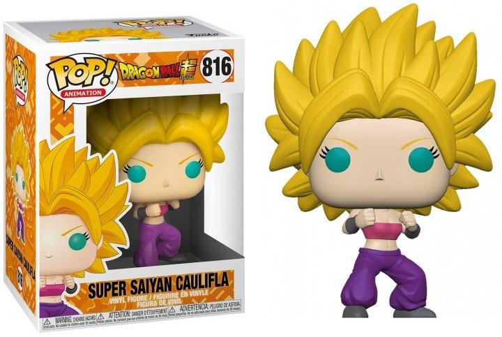 Dragon Ball Super - Bobble Head Funko Pop N°816 : Super Saiyan Caulifla