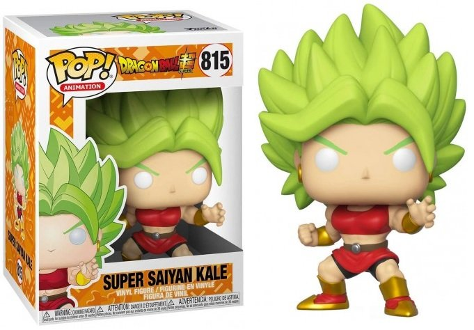 Dragon Ball Super - Bobble Head Funko Pop N°815 : Super Saiyan Kale