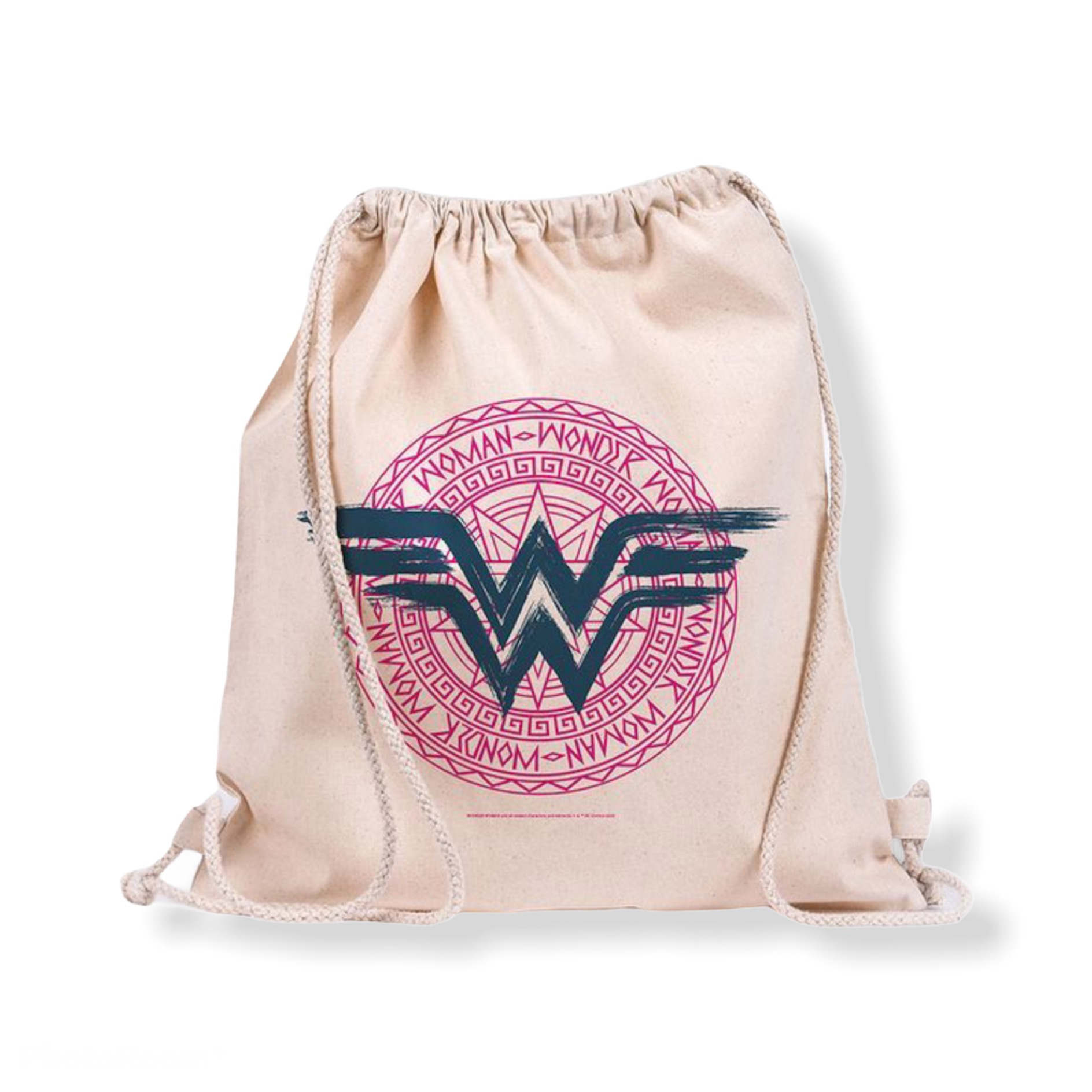 DC Comics - Wonder Woman : Sac en toile logo