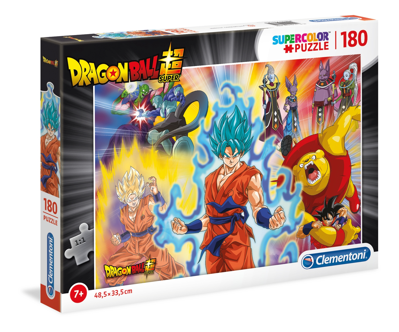 Dragon Ball Super - Supercolor Puzzle 180 pièces