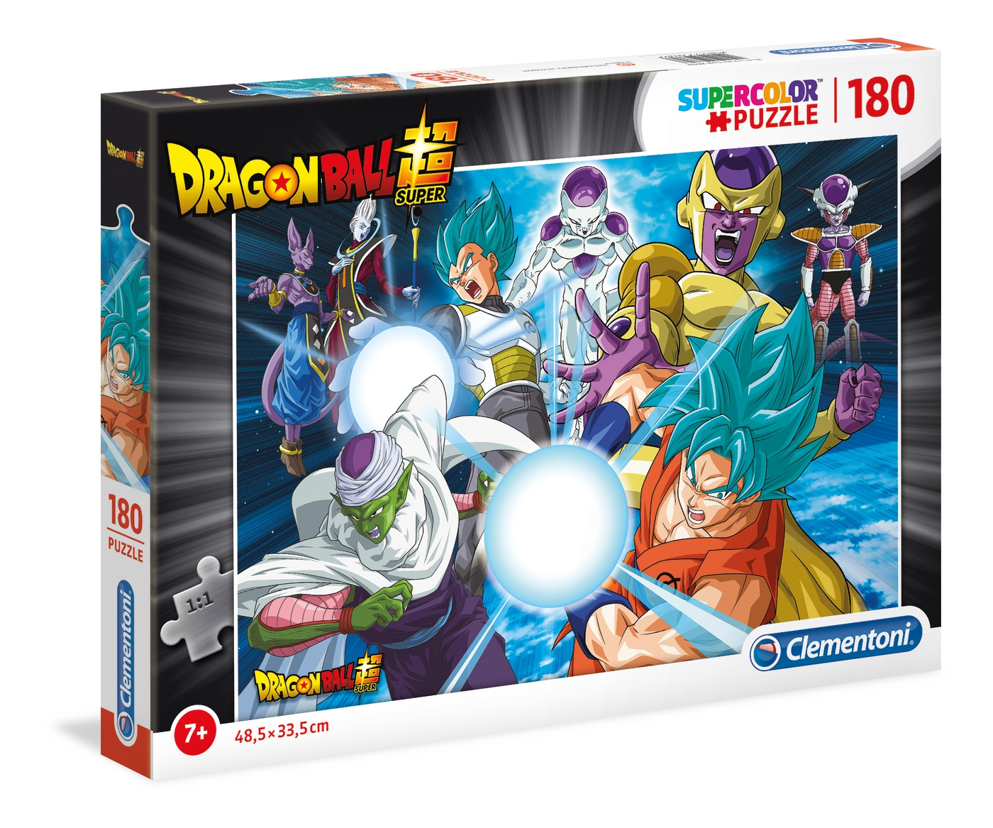 Dragon Ball Super - Puzzle Supercolor 180 pcs