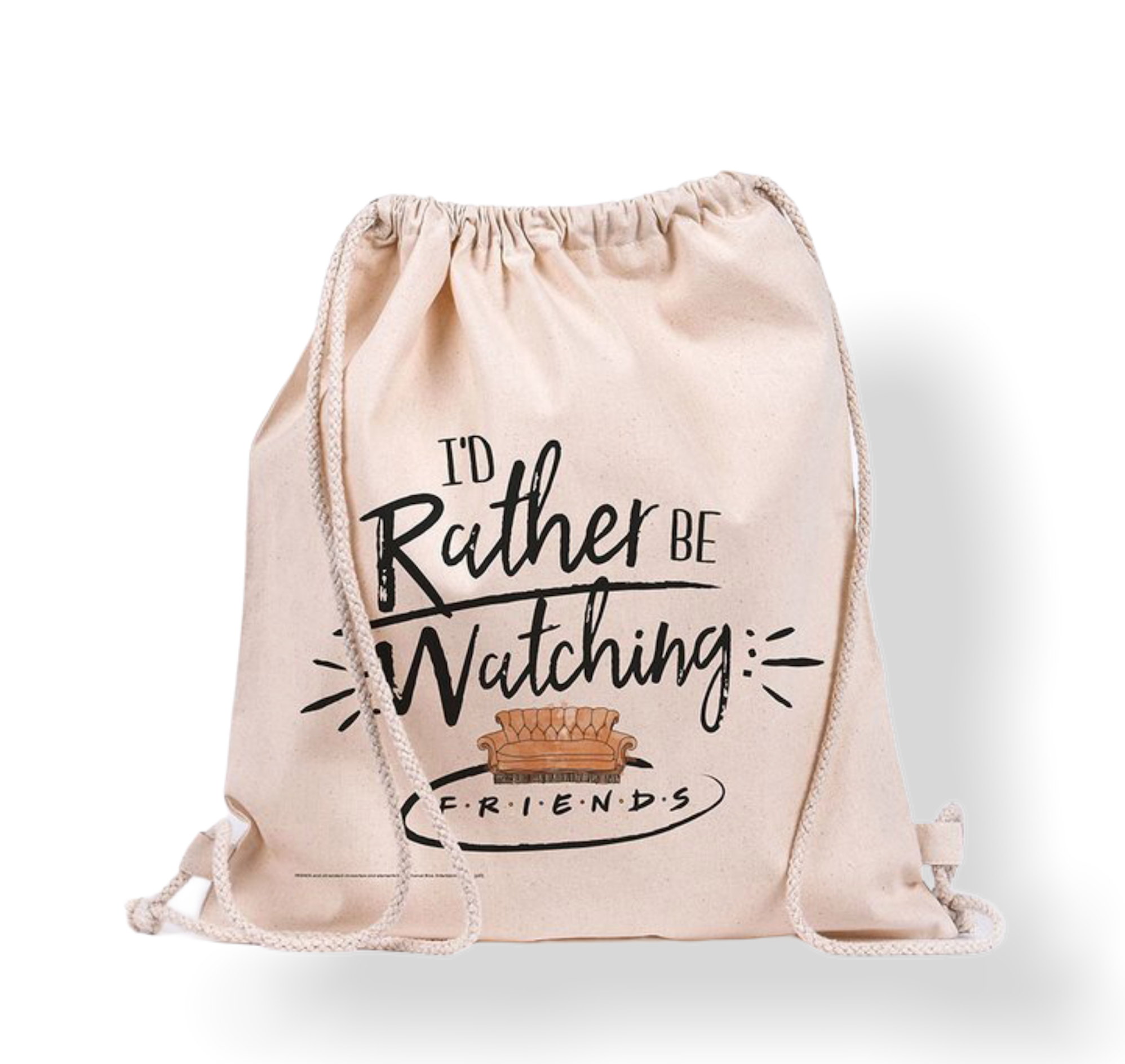 Friends - Rather Be Watching : Sac en toile logo