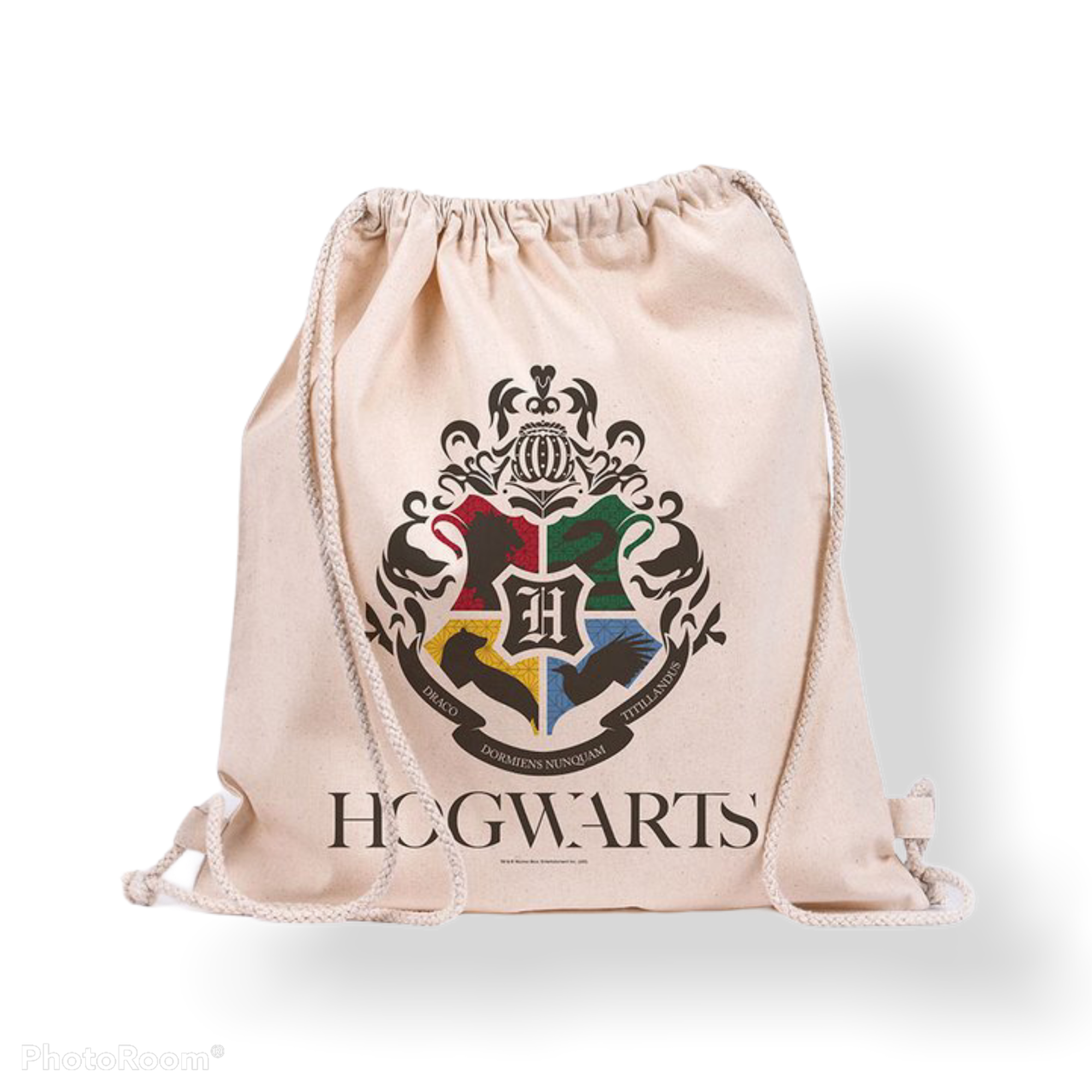 HARRY POTTER - Hogwarts - Sac en toile 100% coton 42x37cm